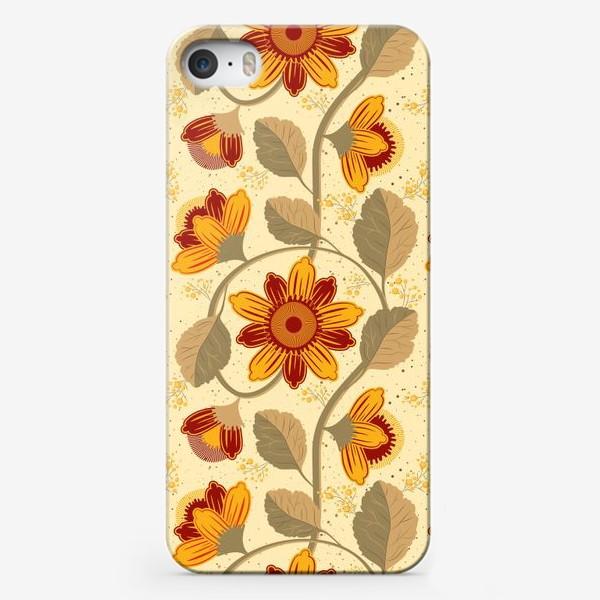 Чехол iPhone «Фантазийная ботаническая иллюстрация»