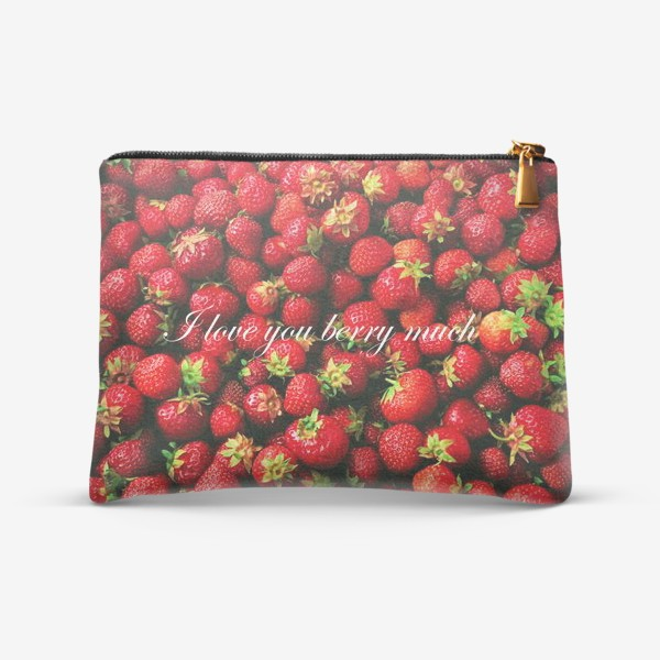 Косметичка «I love you berry much»