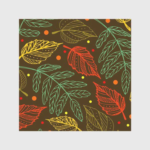 Скатерть «Осенние листья. Узор»