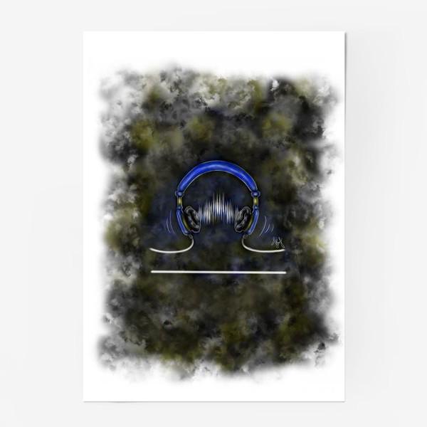 """Постер «Знак зодиака """"Весы""""III»"""