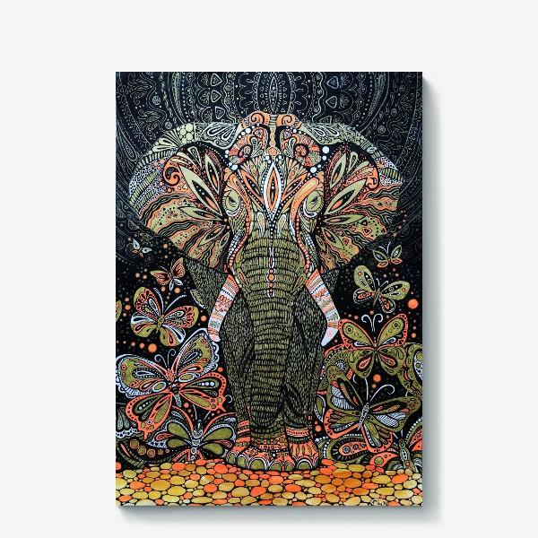 Холст «слон»