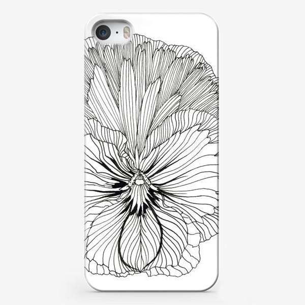 Чехол iPhone «Ботаника: Фиалка»