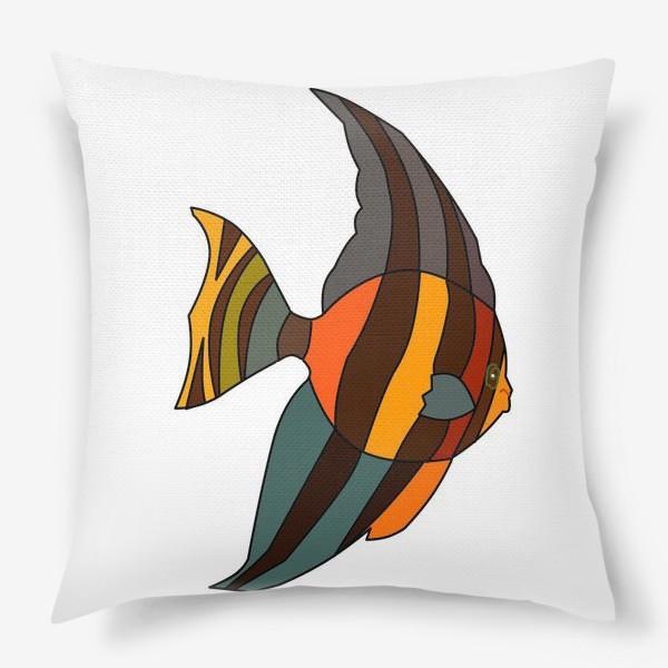 Подушка «Рыба из Барбадоса»