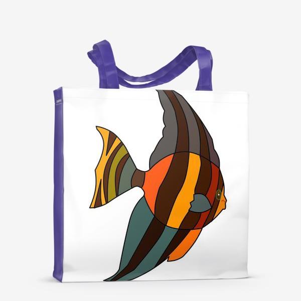 Сумка-шоппер «Рыба из Барбадоса»