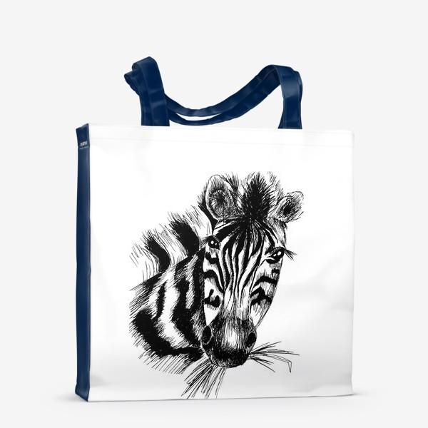 Сумка-шоппер «Дикая зебра»