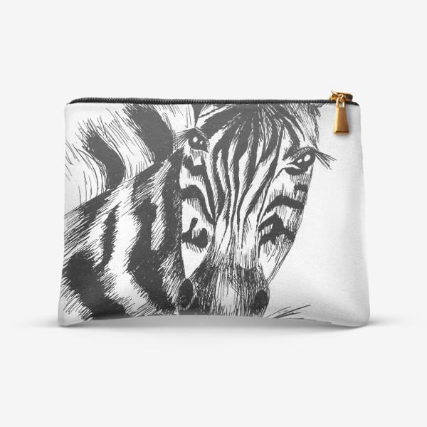 Косметичка «Дикая зебра»
