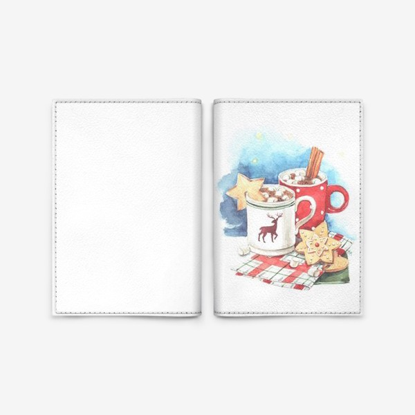Обложка для паспорта «Горячая зима!»