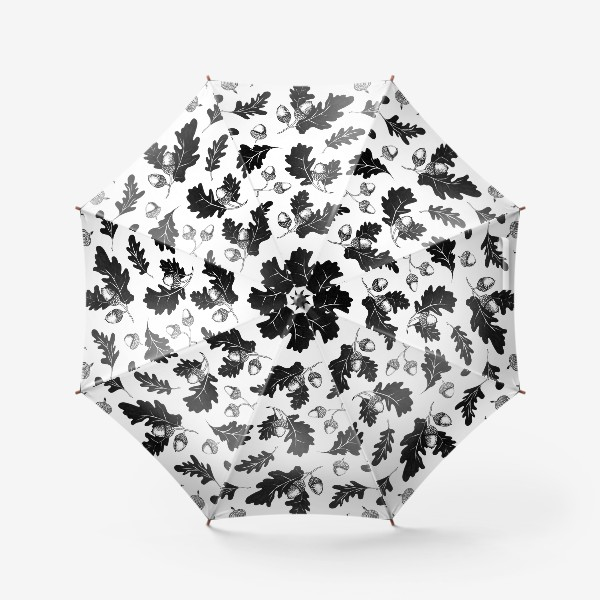 Зонт «Жёлуди»