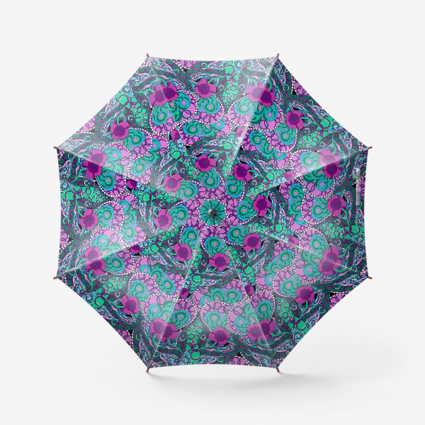 Зонт «Абстрактный флюр узор»
