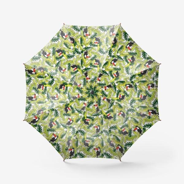 Зонт «ТУКАНЫ В ТРОПИКАХ»