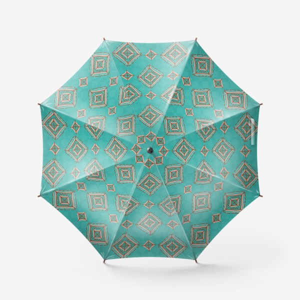 Зонт «Плитка из ромбов»