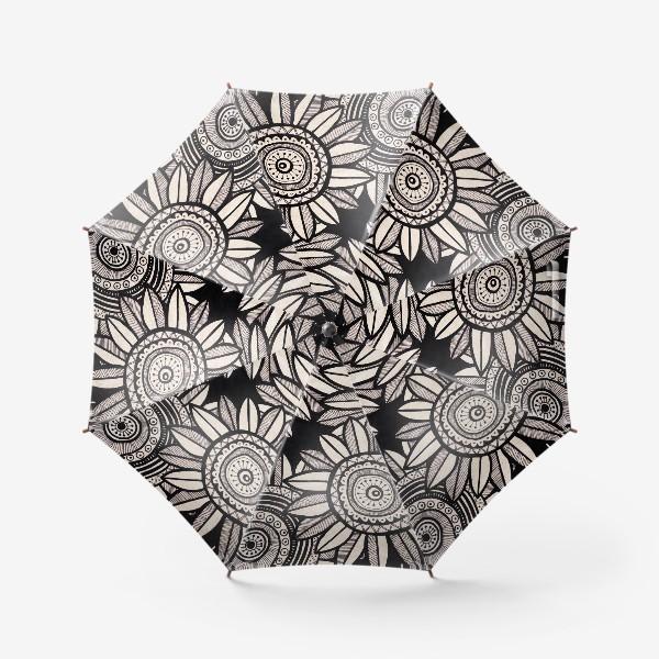 Зонт «Этнические подсолнухи»