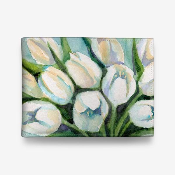 Кошелек «Белые тюльпаны»