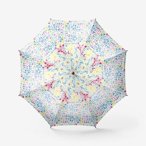 Зонт «Акварельный абстрактный паттерн»