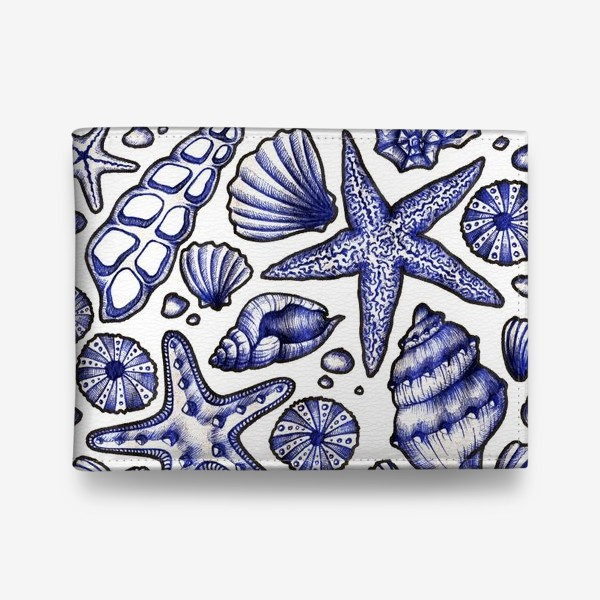 Кошелек «Морские ракушки»