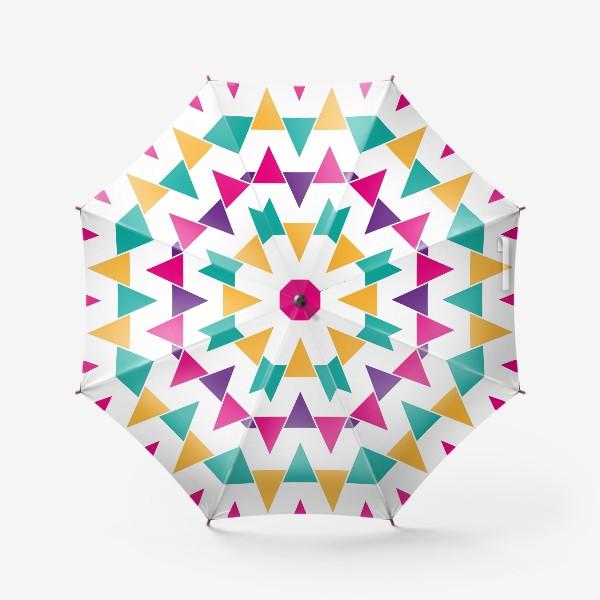 Зонт «Яркий абстрактный узор»