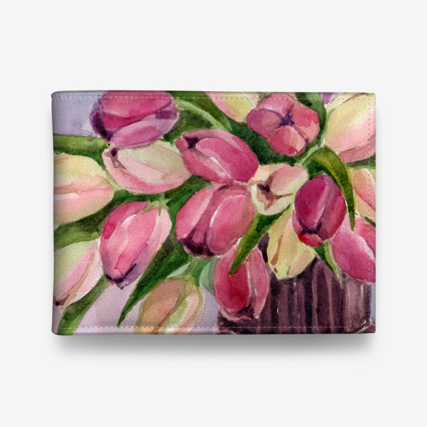 Кошелек «Букет тюльпанов»