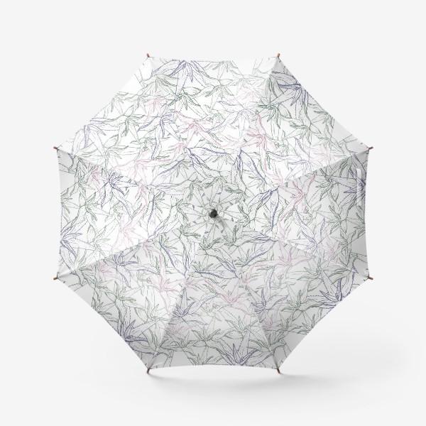 Зонт «Алоэ вера паттерн»