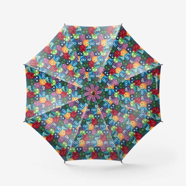 Зонт «Милые совушки»