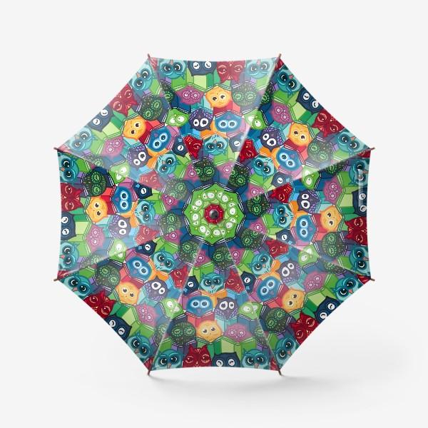 Зонт «Читающие совы»