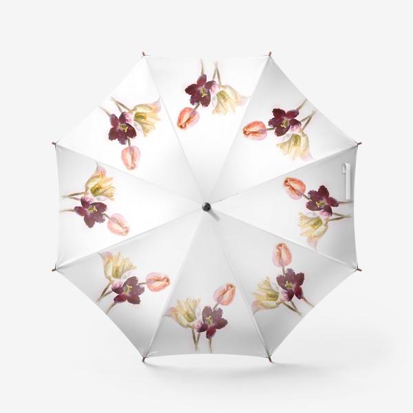 Зонт «Тюльпаны»