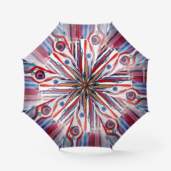 Зонт «Абстракция. Лес»
