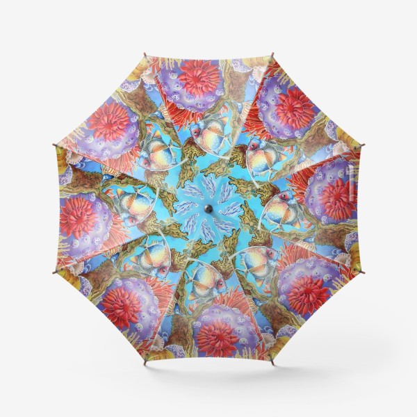 Зонт «Коралловый риф »