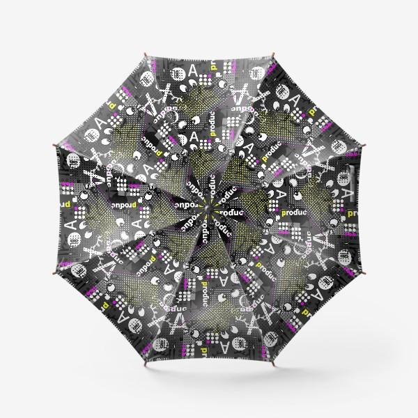 Зонт «Безумные глазки»