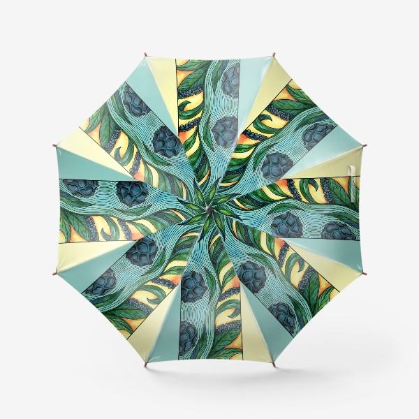 Зонт «Чёрный перец Ар нуво»
