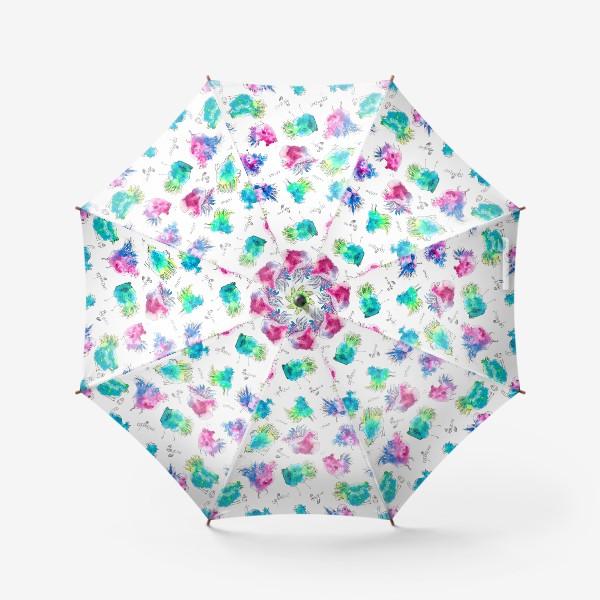 Зонт «Вкусно Сочно Червячно»