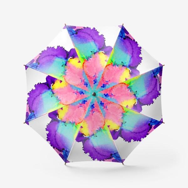 Зонт «Watercolor Neon Abstract»