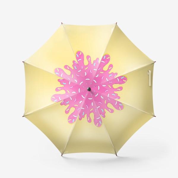 Зонт «сладкий как пончик»