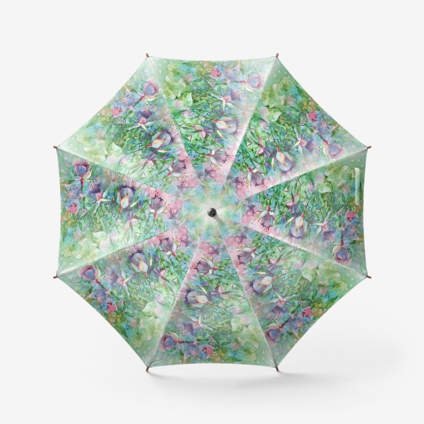 Зонт «Ветка фуксии»