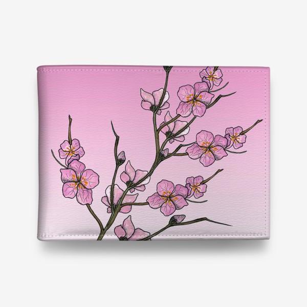 Кошелек «Цветущая вишня»