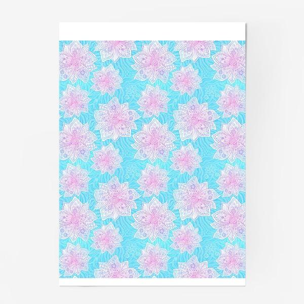 Постер «Кружевные цветы»
