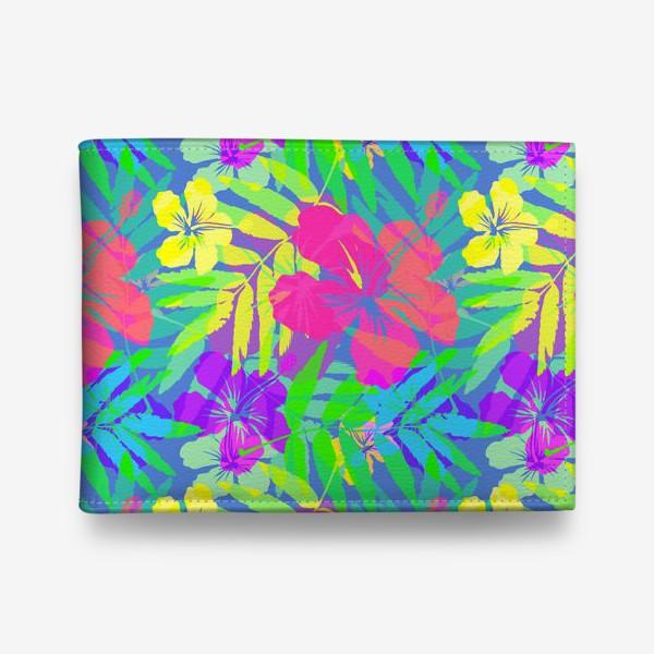 Кошелек «Тропические цветы»
