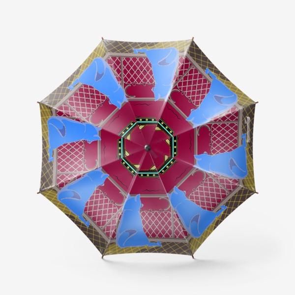 Зонт «Собака и море»