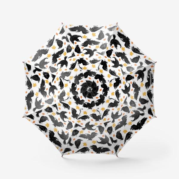 Зонт «вороны»