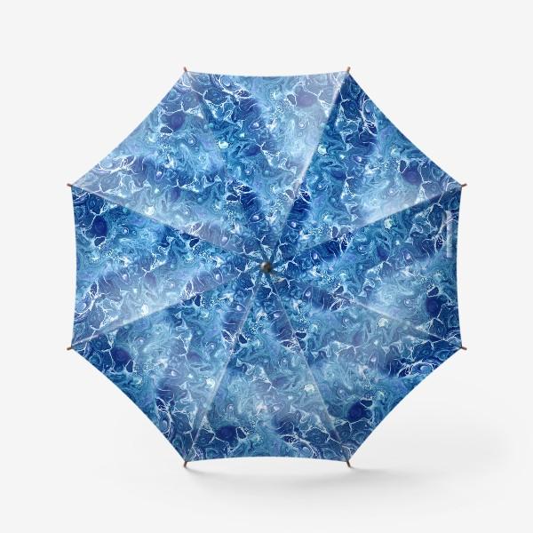 Зонт «Морская фантазия (жидкий акрил)»