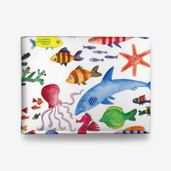 Кошелек «Рыбы. Подводный мир»