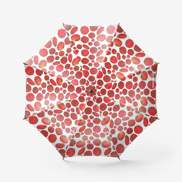 Зонт «Паттерн урожай томатов»