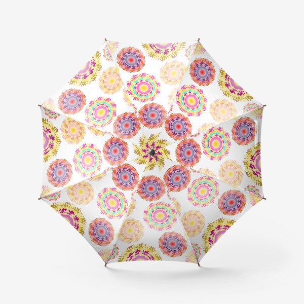 Зонт «Разноцветные абстрактные круги 2»