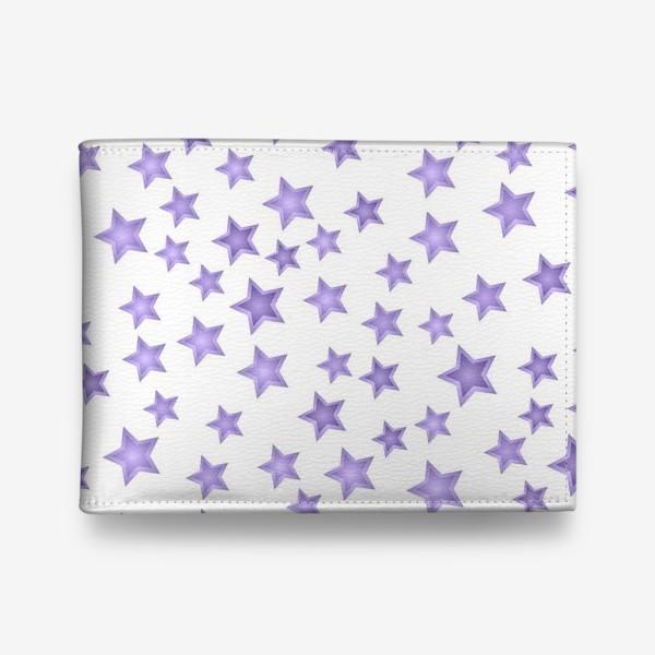Кошелек «Фиолетовые звезды»
