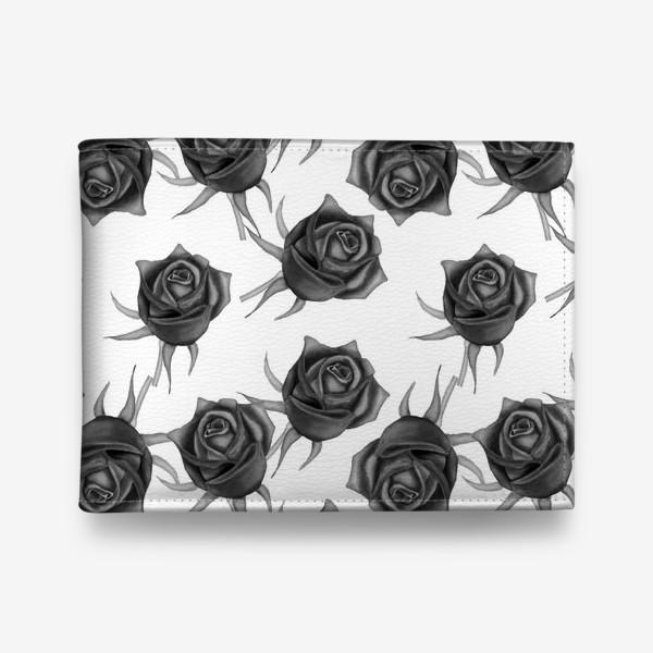 Кошелек «Акварельные розы»