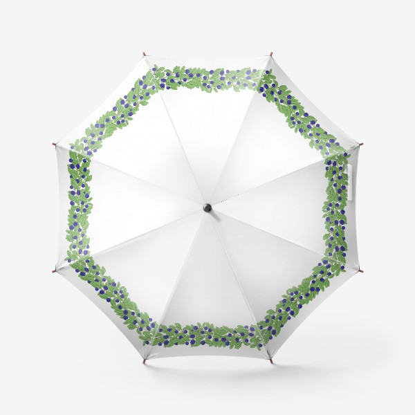 Зонт «Ягоды черники»