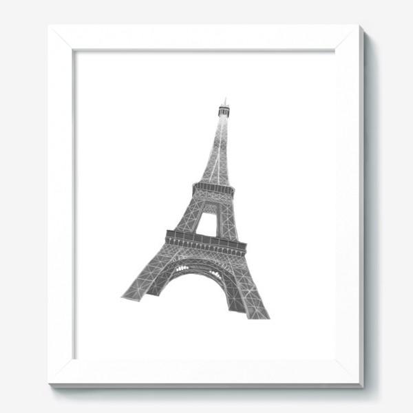 Картина «Эйфелева башня акварель»