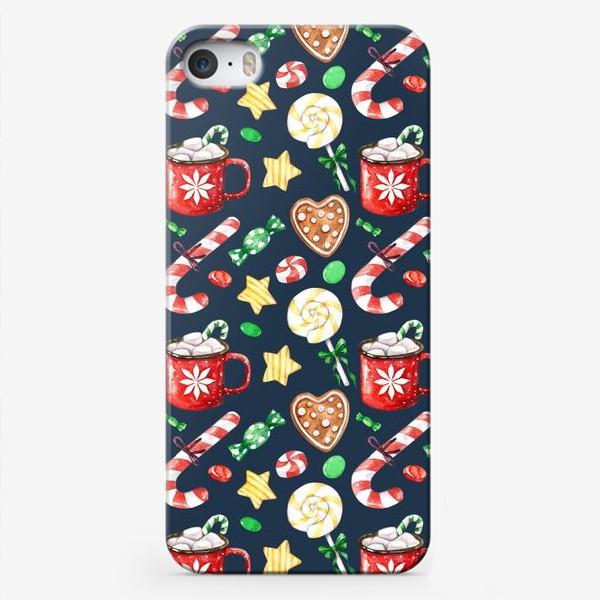 Чехол iPhone «Рождественские сладости»