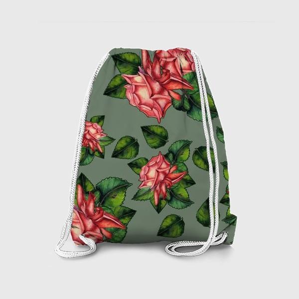 Рюкзак «Роза паттерн»