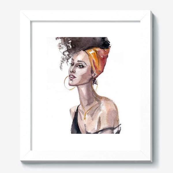 Картина «Девушка мулатка»