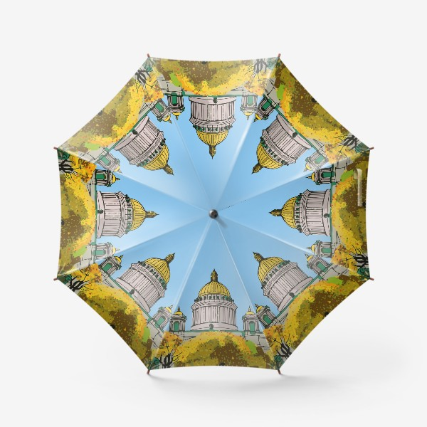 Зонт «Осень в Петербурге»